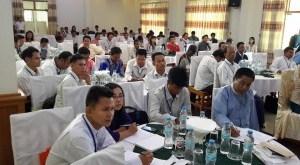 Journalists and reporters from southern Burma are having meeting (Photo: Ko Ko Zaw Facebook)
