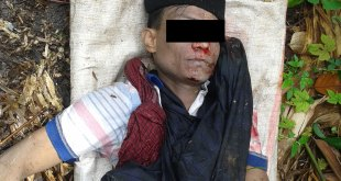Corpse of robbery leader Nai Chan Dein
