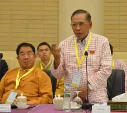 NMSP Chairman Nai Htaw Mon