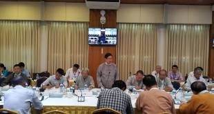 Union Peace-making Working Committee met with 8 ethnic groups (photo: MPC)