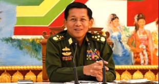 Tatmadaw Defense Chief Senior General Min Aung Hlaing (photo: RFA)