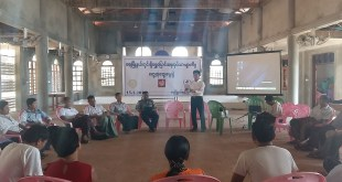 Workshop in Ye Town addressing migrant fishermen issues (Photo: MNA)