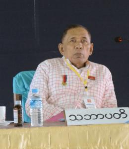 NMSP Chairman Nai Htaw Mon [Photo: MNA]