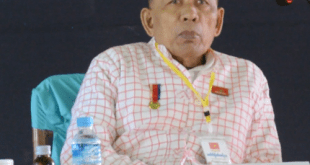 NMSP Chairman Nai Htaw Mon [Photo: MNA]