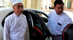 Pyidaungsu Minister of Ethnic Affair, Nai Htet Lwin (Photo: BBC)