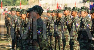 Troops of the MNLA, the armed wing of the NMSP (Photo: MNA)