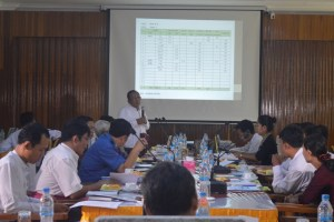 Mon State Hluttaw Representatives meet with SEGEP Officials (Photo: MNA)