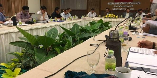 UNFC CEC extend meeting