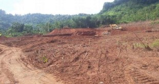 a quarry project site on Kaylatha Mountain nature conservation area (Photo: Eleven News)