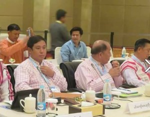 UPDJC member Min Kyaw Zeya Oo  (Photo: Min Zeyar Oo/Facebook)