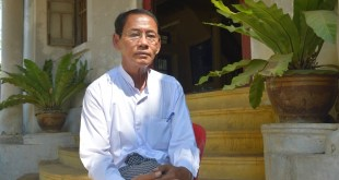 """I'd first make changes for the betterment of the people's living standards, economics, and the mindsets of both citizens and leaders"", MNP candidate Nai Sein Mya Maung"