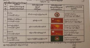 List of five candidates to compete for Changzone Township's Pyithu Hluttaw constituency