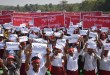 Over 2500 villagers protest against MCL's coal power plant