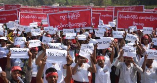 Villagers protesting (Photo: MNA)