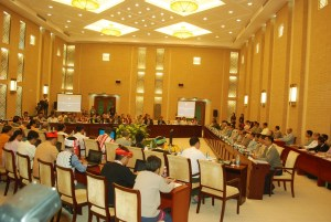 A meeting of the UPDJC on May 28 (photo: MNA)