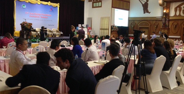 Myanmar Journalists' Views on Reporting and the UN Sustainable Development Goals