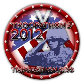 Troopathon 2012 logo