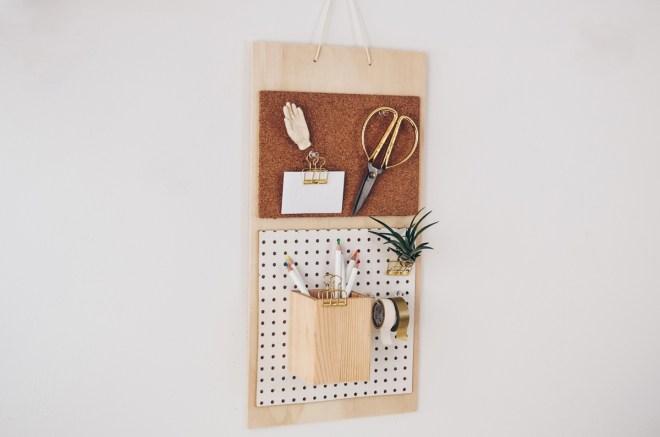 DIY-Anleitung für einen Wandorganizer