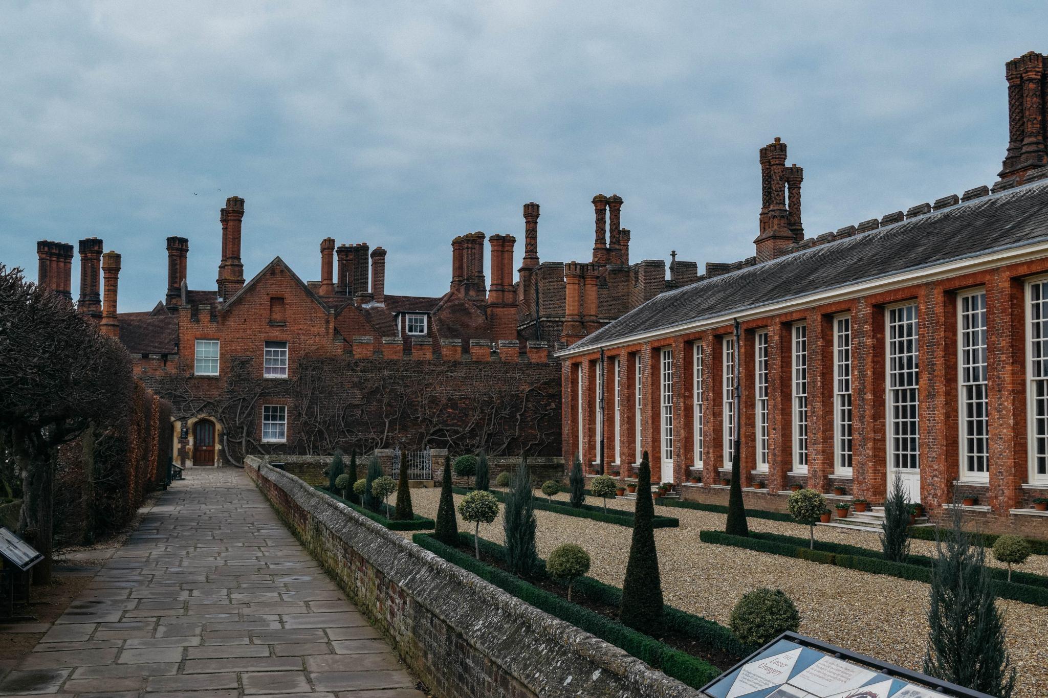 Falling in Love, Surrey, England, All Saints, Hampton Court Palace