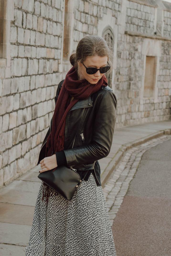 Windsor Castle, Prada Sunglasses, AllSaints Jacket, Monochrome Minimalist, Designer goods