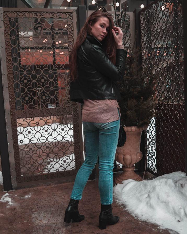 Monochrome Minimalist, Chasing a Dream, Street Style, Minneapolis, Monello, Minneapolis Blogger, WHBM, White House Black Market, All Saints, All Saints Leather Jacket, How to Style, How to Style a Leather Jacket
