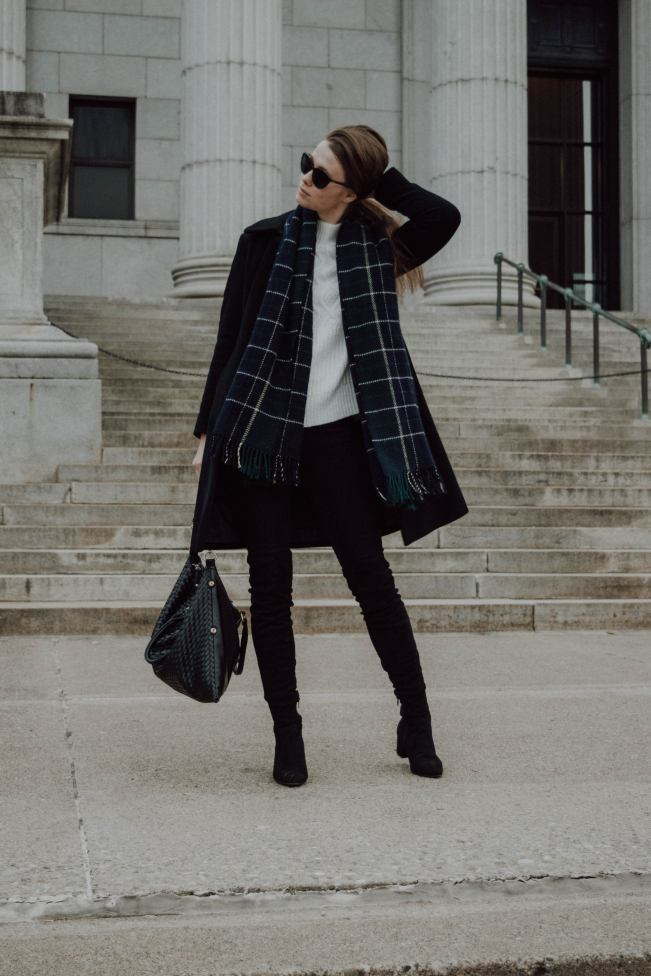 Monochrome Minimalist, Fashion Blogger, Minneapolis