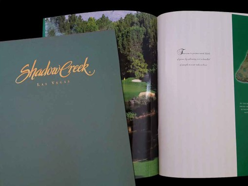 Shadow Creek Sales Book