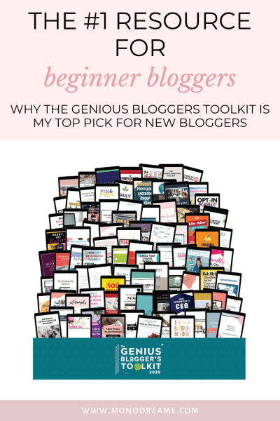 #1 resources genius blogger's toolkit