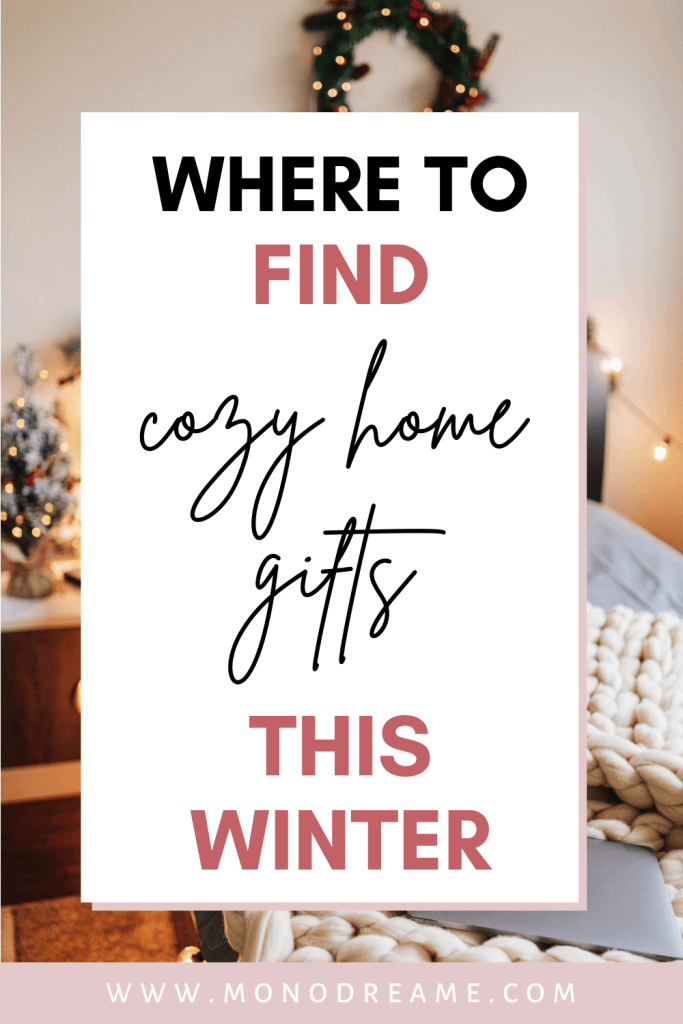 cozy home gifts winter