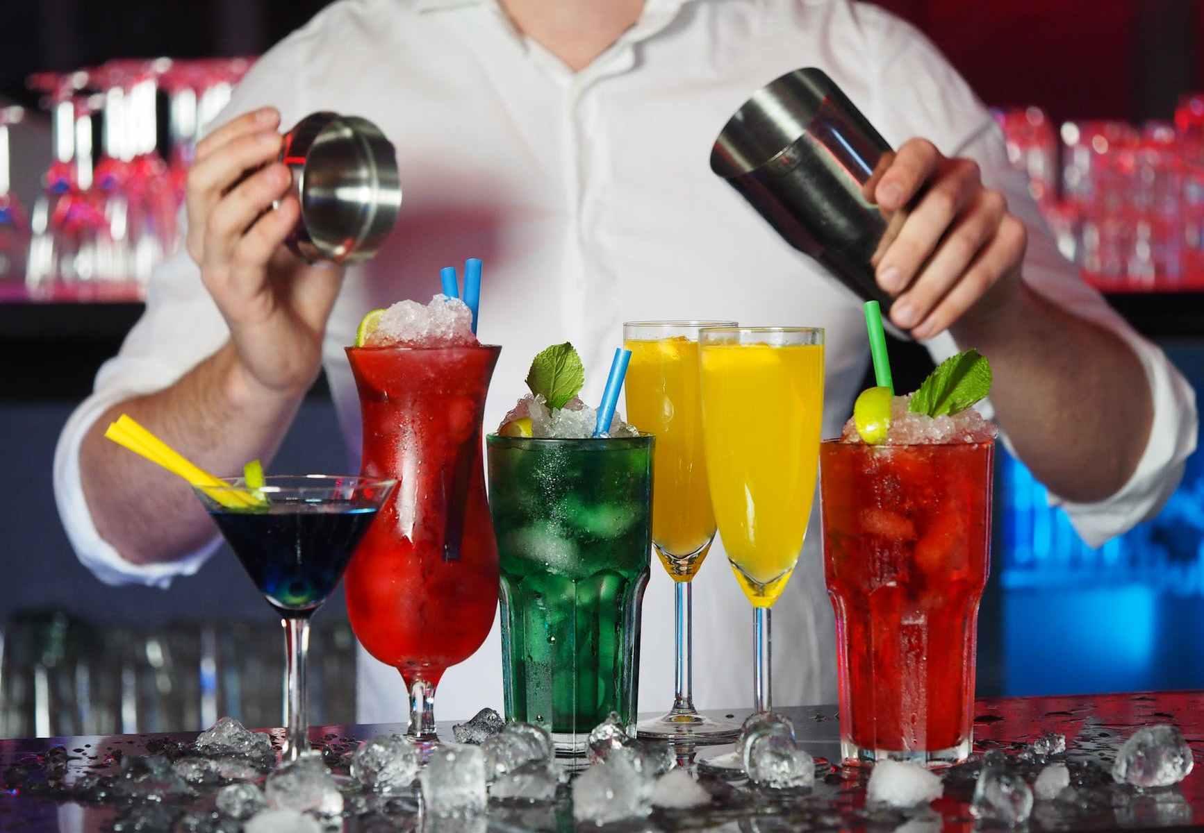photo of assorted liquors