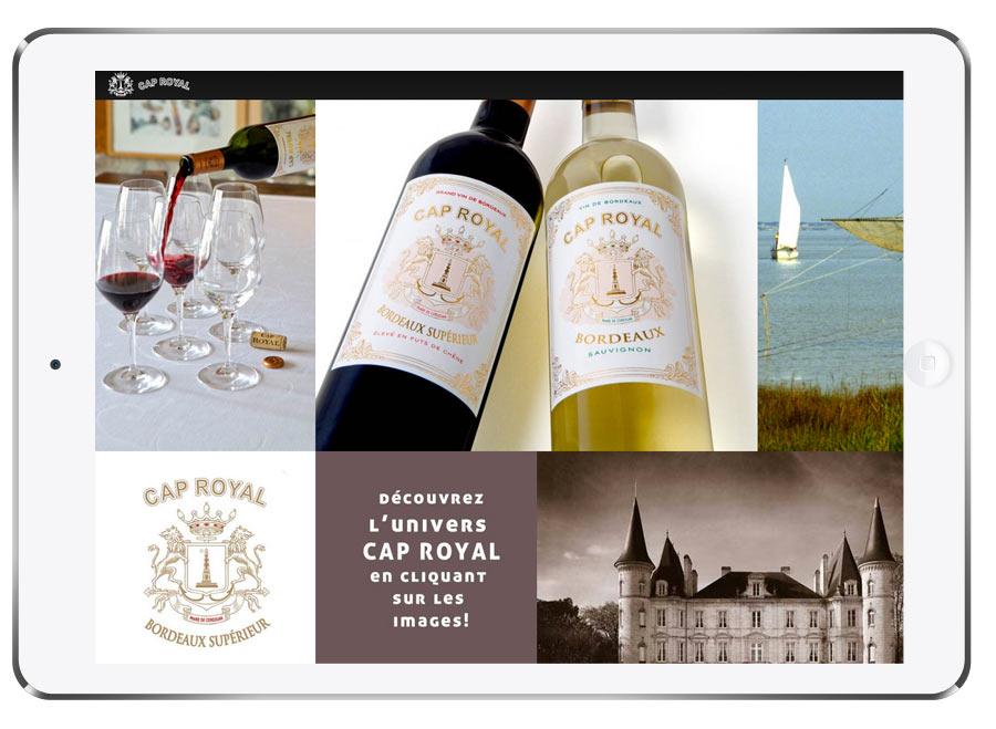Marque Bordeaux vin site internet