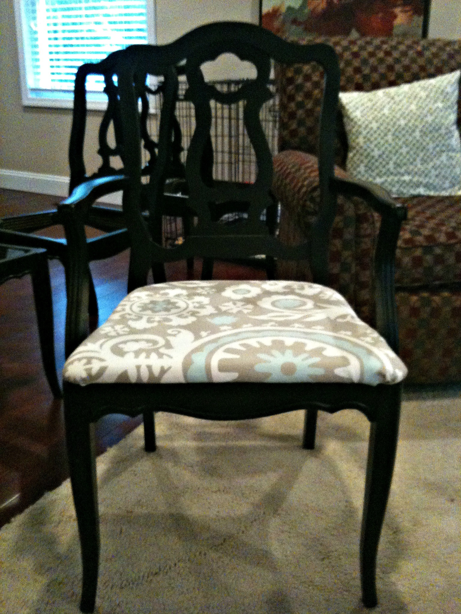 Refurbished Chairs Refurbished Dining Table And Chairs Monograms And Makeovers