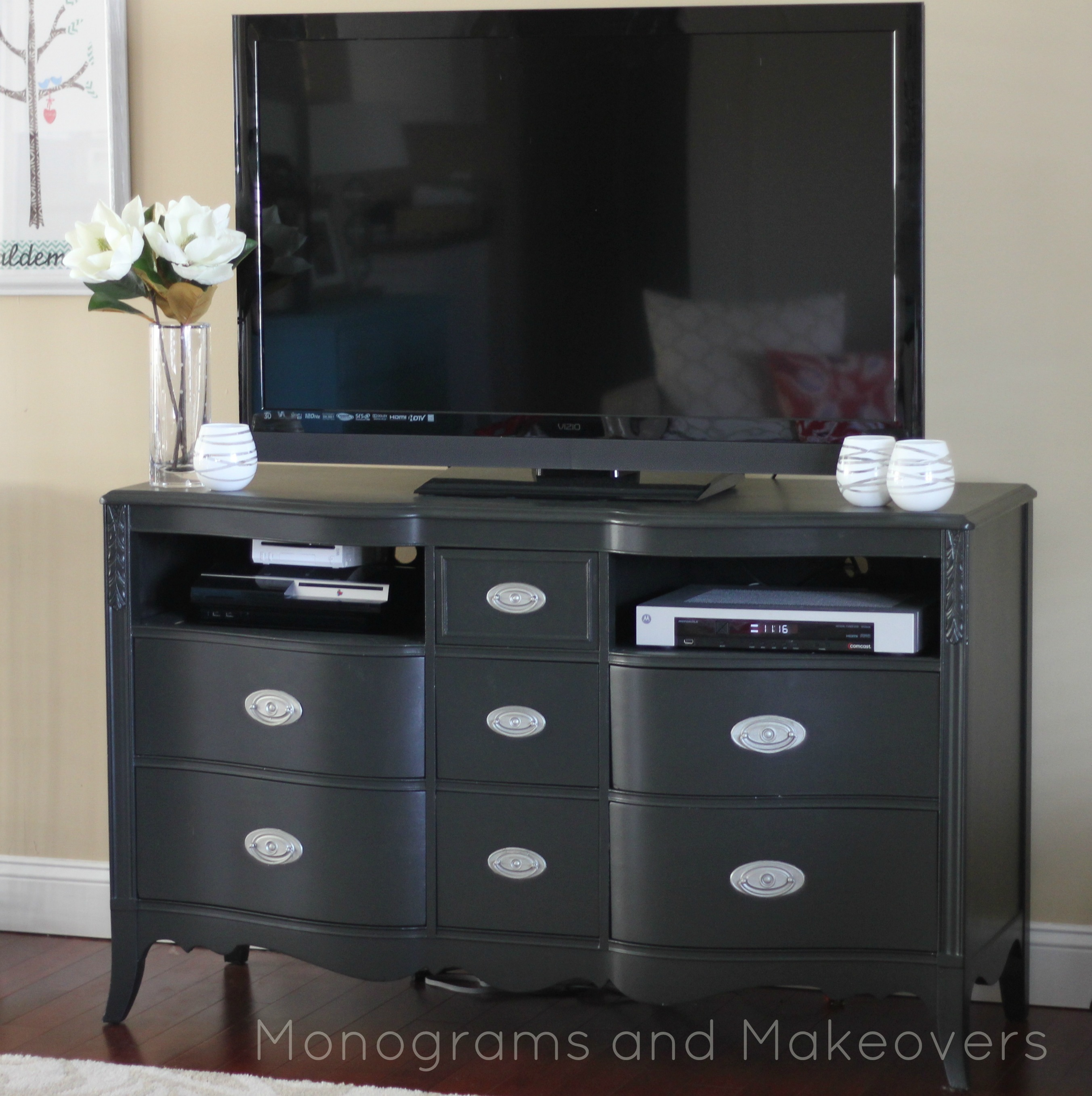 Refurbished Furniture  Monograms and Makeovers