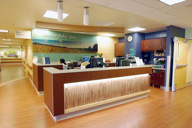 Mother  Baby Unit Nurse Station Renovation  HY Architects