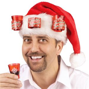 【コスプレ】Santa Hat w/ Shot Glasses
