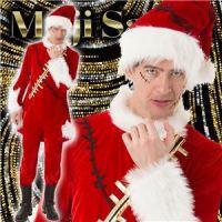 【クリスマスコスプレ 衣装】 マジサンタ ビリビリクラッシュサンタ