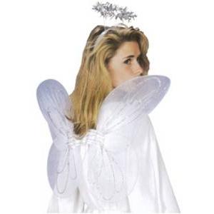 【コスプレ】 RUBIE'S(ルービーズ) Adult Accessory - Angel Kit(アダルト アクセサリー エンジェル キット)