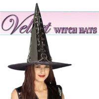 【コスプレ】 RUBIE'S (ルービーズ) 49029 Black Vinyl Witch Hat 49029 (ハット)