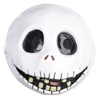 ナイトメアビフォアクリスマスのジャックのマスク