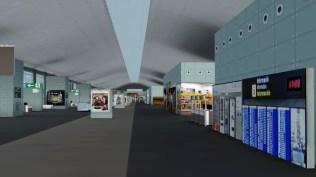 Auch das Innenleben der Terminals ist durchaus detailliert modelliert.