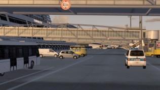 Lebendiges Vorfeld dank animierter Bodenfahrzeuge