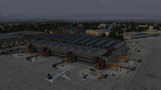 Auch nachts macht JustSims Szenerie eine ausgesprochen gute Figur.