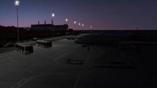 Die Nachtbeleuchtung in X-Plane 11 ist absolut überzeugend