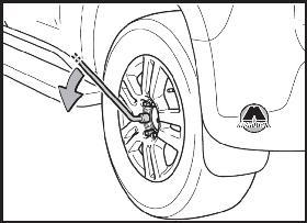 Если спустило колесо Toyota Land Cruiser Prado 150
