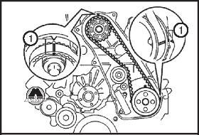 Ремень привода ГРМ автомобиля Toyota Land Cruiser Prado
