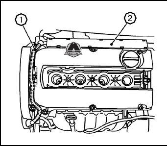 Газораспределительный механизм и головка блока цилиндров