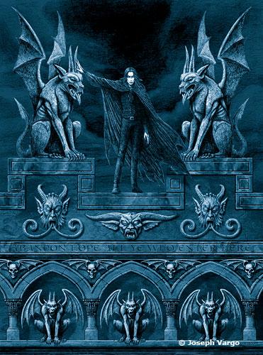 Gothic Fantasy Posters by Joseph Vargo