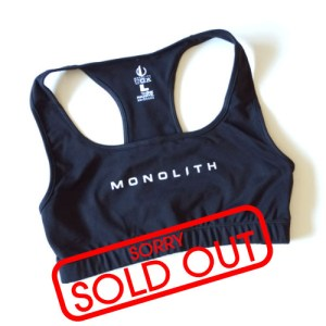 Monolith Sports Bra Sold Out
