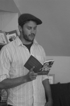 "Jeffrey F. Barken reading from ""This Year in Jerusalem"" at the Book Stop Cafe, Kenmare Ireland June 12th 2013"