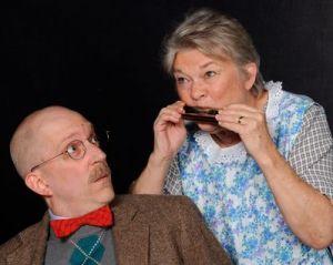 Eric C. Stein, Carol Conley Evans. Photo by Tom Lauer.